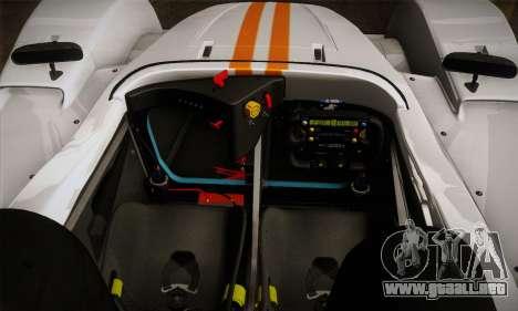 Caterham-Lola SP300.R para vista lateral GTA San Andreas