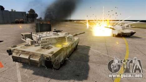 Estilo de escritura del tanque V para GTA 4 octavo de pantalla