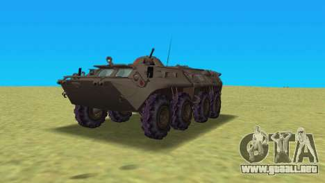 BTR-80 para GTA Vice City left