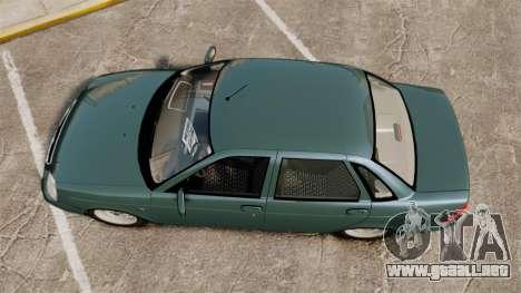 Vaz-2170 Lada Priora para GTA 4 visión correcta