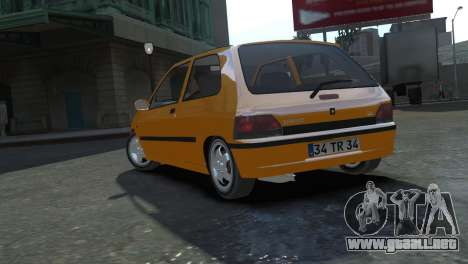 Renault Clio Williams para GTA 4 left
