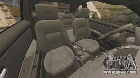 BMW 1M 2014 para GTA 4 vista lateral