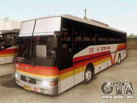 Man 14.220 (Santarosa Exfoh) - Victory Liner 210 para GTA San Andreas