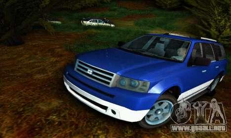 Landstalker GTA IV para GTA San Andreas