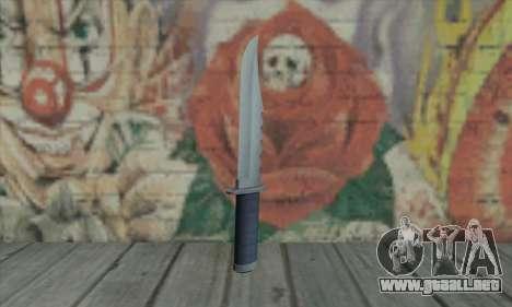 Cuchillo de GTA V para GTA San Andreas