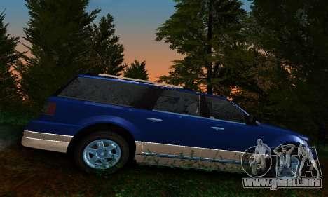 Landstalker GTA IV para GTA San Andreas left