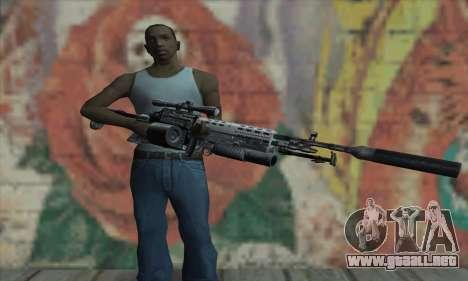 MK14 para GTA San Andreas tercera pantalla