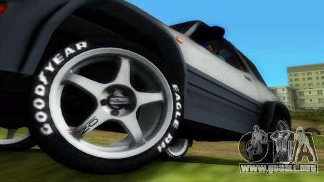 Toyota RAV 4 L 94 Fun Cruiser para GTA Vice City interior