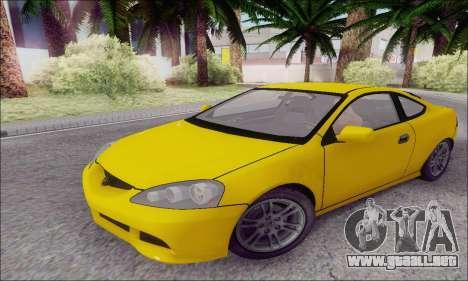 Acura RSX para GTA San Andreas left