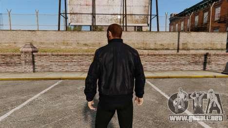 Chaqueta de policía para GTA 4 segundos de pantalla