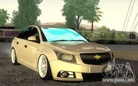 Chevrolet Cruze para GTA San Andreas left