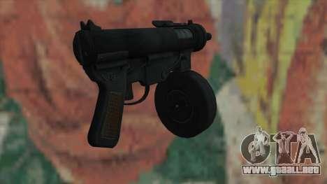 MP5 de Fallout New Vegas para GTA San Andreas segunda pantalla