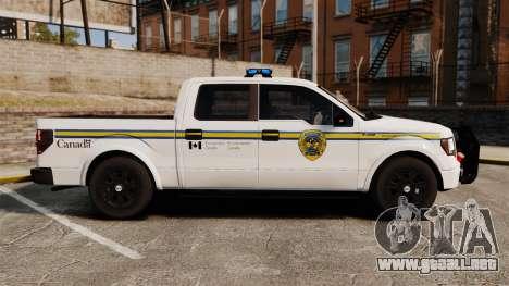 Ford F-150 2012 CEPS [ELS] para GTA 4 left