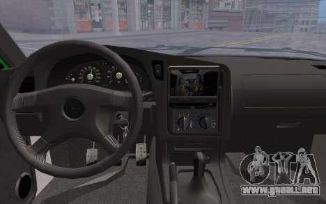 Opel Astra GSI Tuning para la visión correcta GTA San Andreas
