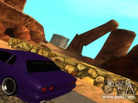 Smooth Camera para GTA San Andreas tercera pantalla
