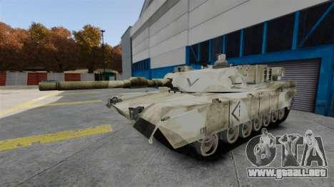 Estilo de escritura del tanque V para GTA 4 séptima pantalla