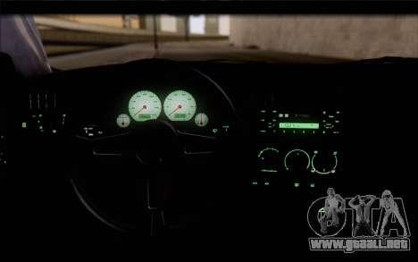 Volkswagen Golf Mk3 para la visión correcta GTA San Andreas