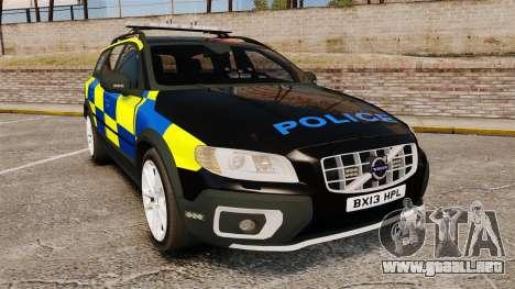Volvo XC70 Police [ELS] para GTA 4