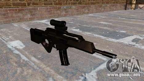 FUSIL HK SL8 de Bullpup para GTA 4