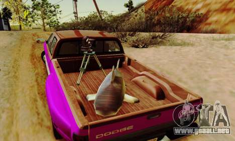 Dodge Ram 3500 para vista inferior GTA San Andreas