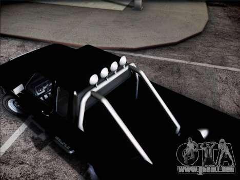 Bobcat de insípida GTA V para GTA San Andreas vista posterior izquierda
