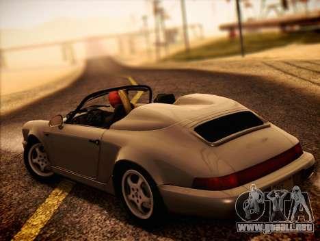 Porsche 911 Speedster Carrera 2 1992 para GTA San Andreas left