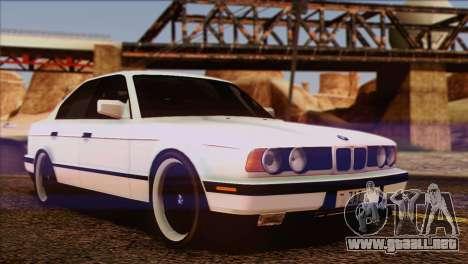 BMW 535i E34 Mafia Style para vista inferior GTA San Andreas
