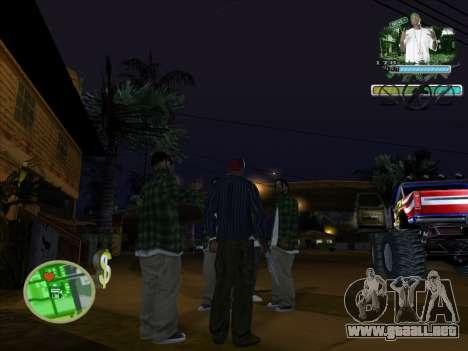 C-HUD Groove Street para GTA San Andreas segunda pantalla