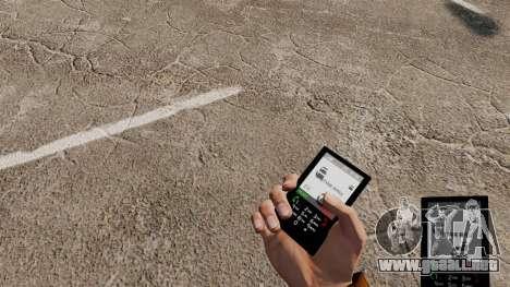 El tema para el teléfono G-Star para GTA 4