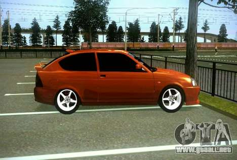 VAZ-2172 cupé Sport para visión interna GTA San Andreas