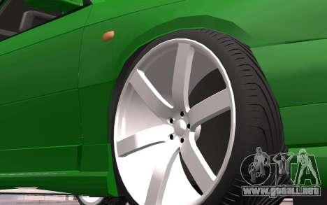 Opel Astra GSI Tuning para GTA San Andreas vista posterior izquierda