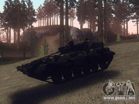 BMP-2 para la vista superior GTA San Andreas