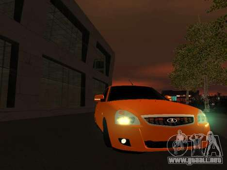 VAZ-2172 para vista lateral GTA San Andreas