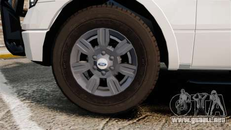 Ford F-150 2012 CEPS [ELS] para GTA 4 vista hacia atrás