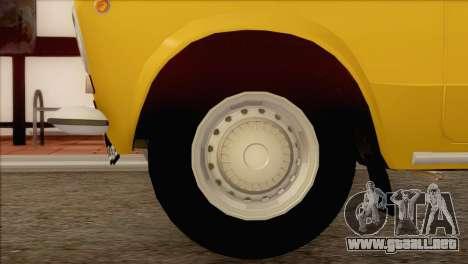 VAZ 21011 de Taxi para la visión correcta GTA San Andreas