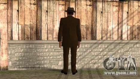 Cole Phelps de L.A. Noire para GTA San Andreas segunda pantalla