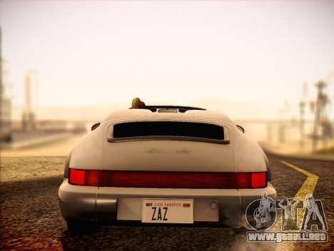 Porsche 911 Speedster Carrera 2 1992 para la visión correcta GTA San Andreas