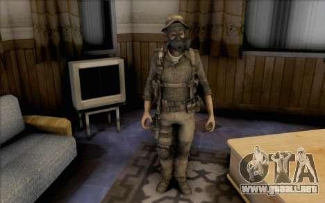 Precio del capitán (con máscara) para GTA San Andreas segunda pantalla