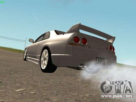 Nissan Skyline R33 GT-R para la visión correcta GTA San Andreas