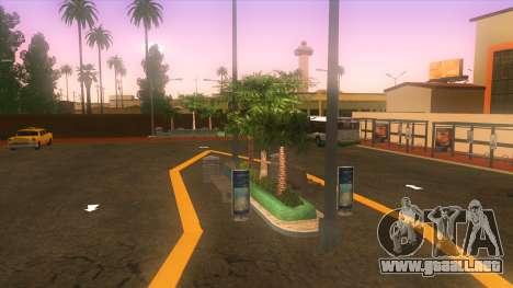 Estación de autobuses, Los Santos para GTA San Andreas tercera pantalla