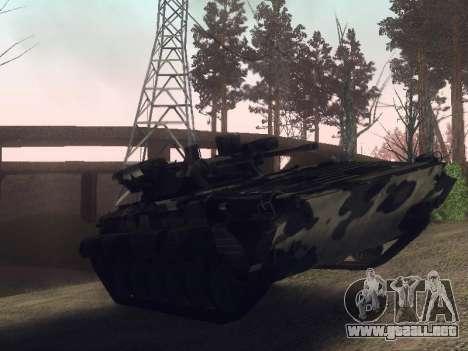 BMP-2 para GTA San Andreas vista posterior izquierda