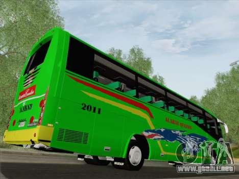 Irizar Mercedes Benz MQ2547 Alabat Liner para las ruedas de GTA San Andreas