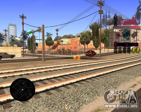 C-HUD LCN para GTA San Andreas tercera pantalla