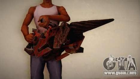 Lanzallamas de Bulletstorm para GTA San Andreas tercera pantalla