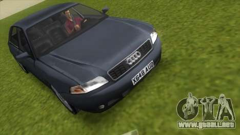 Audi A8 VCM para GTA Vice City vista lateral izquierdo