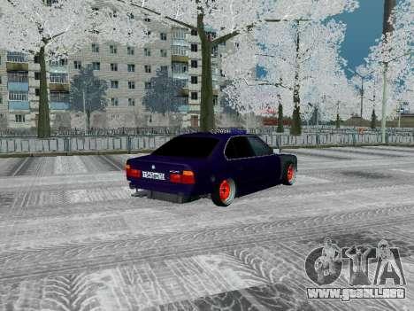 BMW 525i e34 Hobo para la visión correcta GTA San Andreas