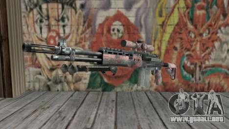 M14 EBR Red Tiger para GTA San Andreas