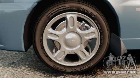 Daewoo Lanos 1997 PL para GTA 4 vista hacia atrás