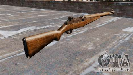 Self-loading rifle M1 Garand v1.1 para GTA 4 segundos de pantalla