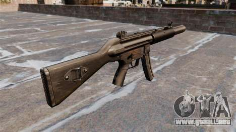 Ametralladora HK MP5SD2 para GTA 4 segundos de pantalla